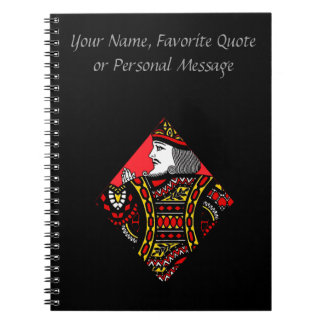 The King of Diamonds Notebook