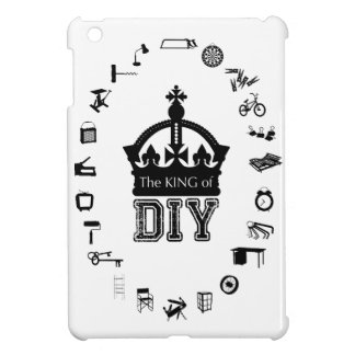 The King of DIY - Black Letters - Case Case For The iPad Mini