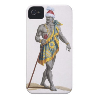 The King of Florida, 1780 (coloured engraving) iPhone 4 Case-Mate Cases
