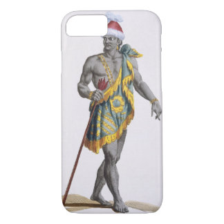 The King of Florida, 1780 (coloured engraving) iPhone 8/7 Case