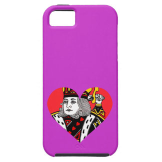 The King of Hearts iPhone 5 Cases
