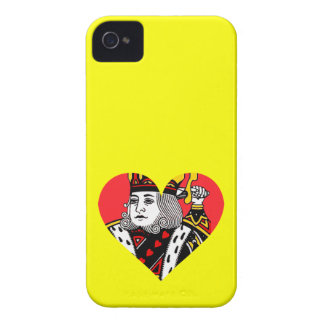 The King of Hearts Case-Mate iPhone 4 Cases