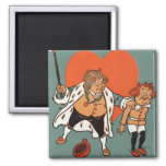 The King Of Hearts Magnet