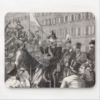 The King of Prussia addressing the Berliners Mouse Mat