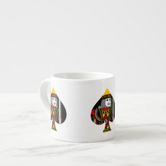The King of Spades Espresso Mug