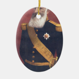 The King of the Belgians Christmas Ornament