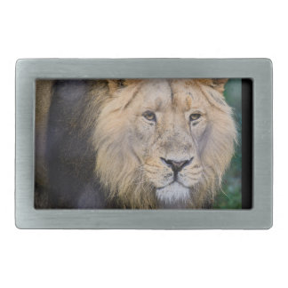 the king rectangular belt buckle
