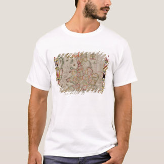 The Kingdome of England, engraved by Jodocus T-Shirt