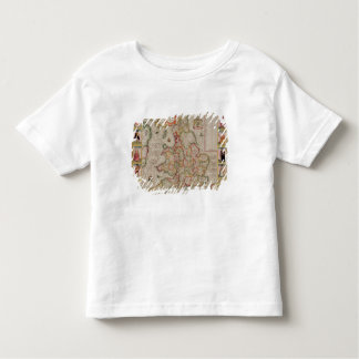 The Kingdome of England, engraved by Jodocus Toddler T-Shirt