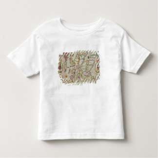 The Kingdome of Scotland, engraved by Jodocus Toddler T-Shirt