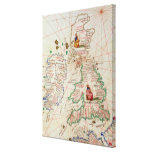The Kingdoms of England and Scotland Gallery Wrapped Canvas