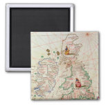 The Kingdoms of England and Scotland Square Magnet