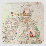 The Kingdoms of England and Scotland Square Sticker