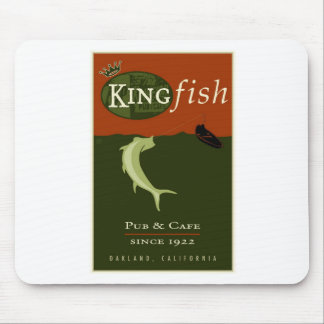 the Kingfish Mouse Pad