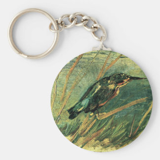 The Kingfisher by Vincent van Gogh Key Ring