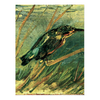 The Kingfisher by Vincent van Gogh Postcard