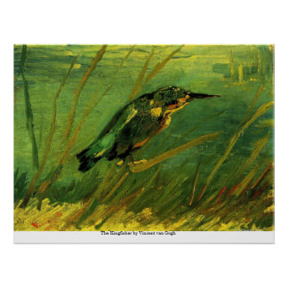 The Kingfisher by Vincent van Gogh Poster