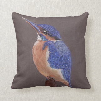 The Kingfisher Cushion