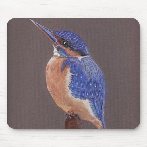 The Kingfisher Mouse Pad