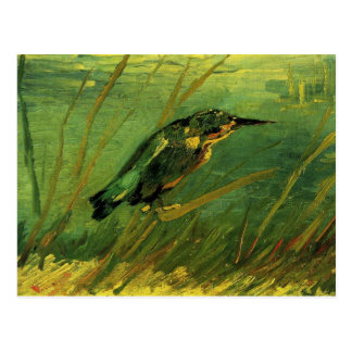 The Kingfisher, Van Gogh Fine Art Postcard
