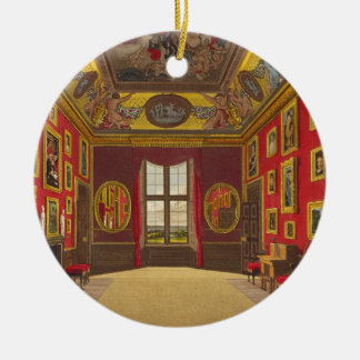 The King's Closet, Windsor Castle, from 'Royal Res Christmas Ornament