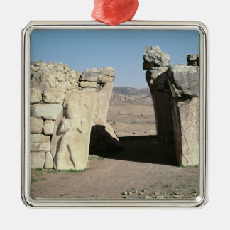 The King's Gate from the walls of Hattusas Christmas Ornament