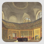 The King's Library, Buckingham House, from 'The Hi Square Stickers