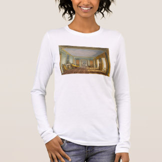 The King's Library from Views of The Royal Pavilio Long Sleeve T-Shirt