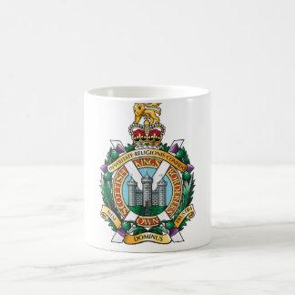 The Kings Own Scottish Borderers Regiment Basic White Mug