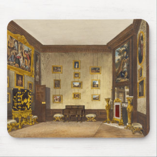 The King's Writing Closet, Hampton Court, from 'Th Mouse Pad