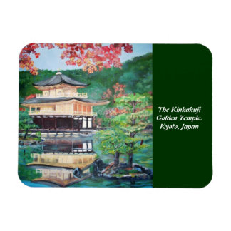 The Kinkakuji Golden Temple - Premium Flexi Magnet