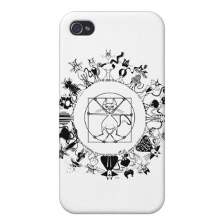 The Kinky Mandala Speck Case Covers For iPhone 4