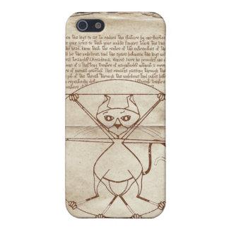 The Kinky Vitruvian Kitty Speck Case iPhone 5 Case