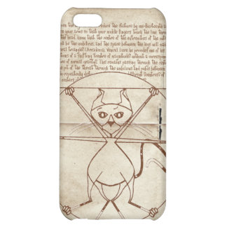 The Kinky Vitruvian Kitty Speck Case iPhone 5C Cases