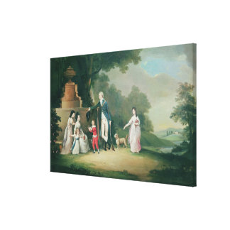 The Kinloch Family of Kair Canvas Print