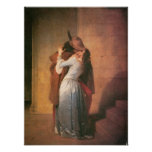 The Kiss, 1859 Poster