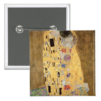 The Kiss, 1907-08 15 Cm Square Badge