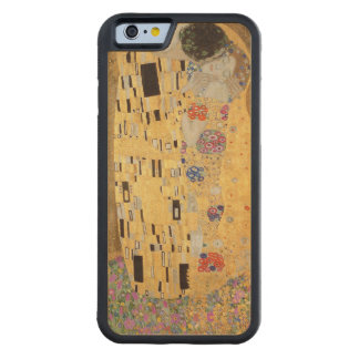 The Kiss, 1907-08 2 Carved Maple iPhone 6 Bumper Case