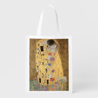 The Kiss, 1907-08 2 Reusable Grocery Bag