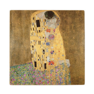 The Kiss, 1907-08 2 Wood Coaster