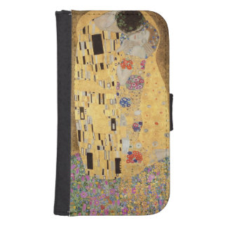The Kiss, 1907-08 3 Samsung S4 Wallet Case