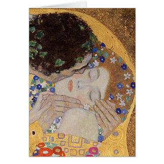 The Kiss, 1907-08 Card