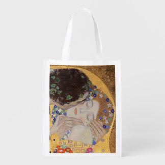 The Kiss, 1907-08 Reusable Grocery Bag