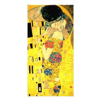 The Kiss by Gustav Klimt Art Nouveau Photo Card