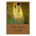 The Kiss by Gustav Klimt Card