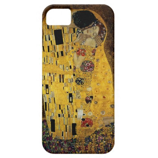 The Kiss by Gustav Klimt iPhone 5 Covers