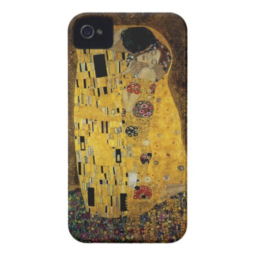 The Kiss by Gustav Klimt Case-Mate iPhone 4 Cases