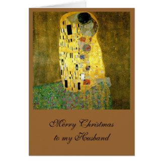 The Kiss by Gustav Klimt Greeting Card