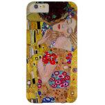 The Kiss by Gustav Klimt, Vintage Art Nouveau Barely There iPhone 6 Plus Case