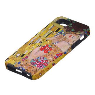 The Kiss by Gustav Klimt, Vintage Art Nouveau iPhone 5 Cover